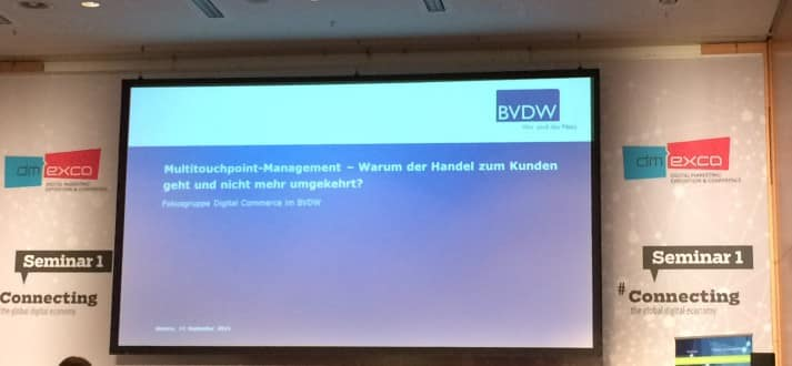 Multitouchpoint-Management-dmexco